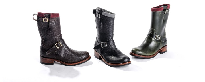 Noah Waxman American luxury shoemaker handmade engineer boot Garrison