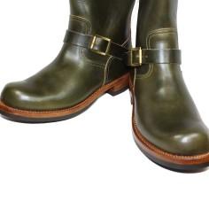 Noah Waxman American luxury shoemaker Garrison engineer boots handmade