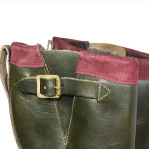 Noah Waxman American luxury shoemaker handmade engineer boots Garrison