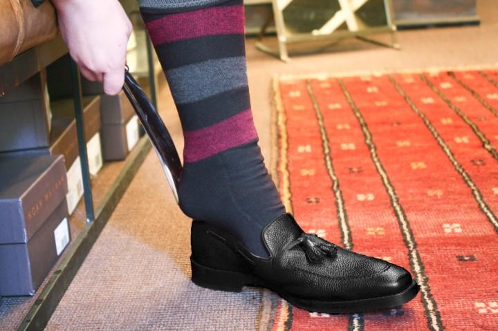 noah waxman American luxury shoemaker handmade loafer