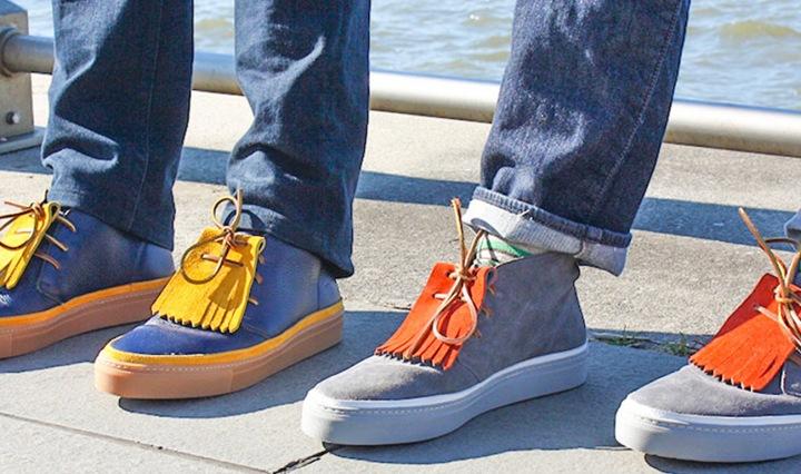 Noah Waxman American luxury shoemaker Hamilton sneaker kiltie Hudson river West Village