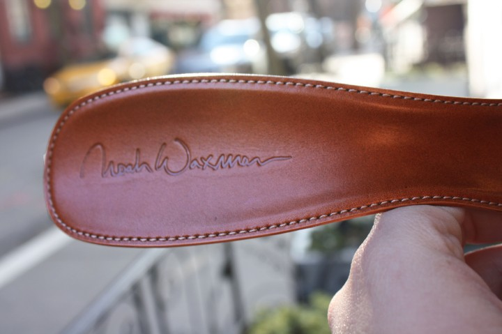 noah waxman american luxury shoemaker handmade leather shoehorn
