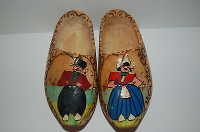 Antiquated Dutch clogs